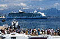 Port of Ajaccio, Corsica France