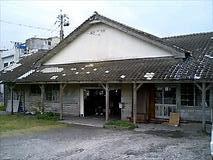 枕崎駅/線路側